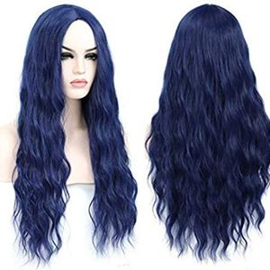 Purple Blue Full Wig